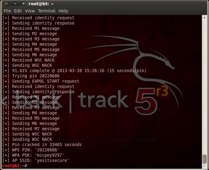 hack wifi bằng backtrack 5 r3