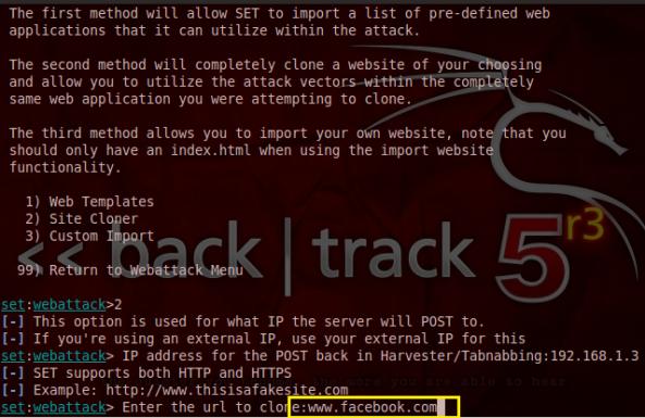 10 - Hack Facebook, Gmail bằng Backtrack 5 R3