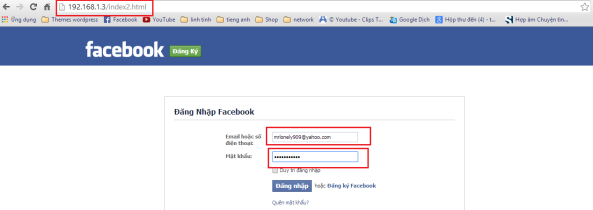 12 - Hack Facebook, Gmail bằng Backtrack 5 R3