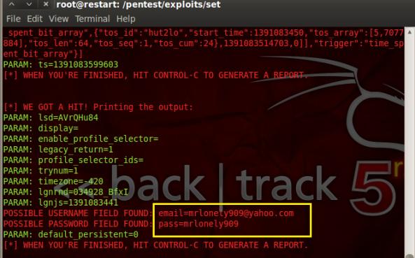 13 - Hack Facebook, Gmail bằng Backtrack 5 R3