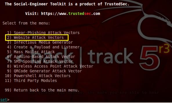 4 - Hack Facebook, Gmail bằng Backtrack 5 R3